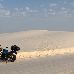 White Sands National Monument, NM. Sand, not snow!